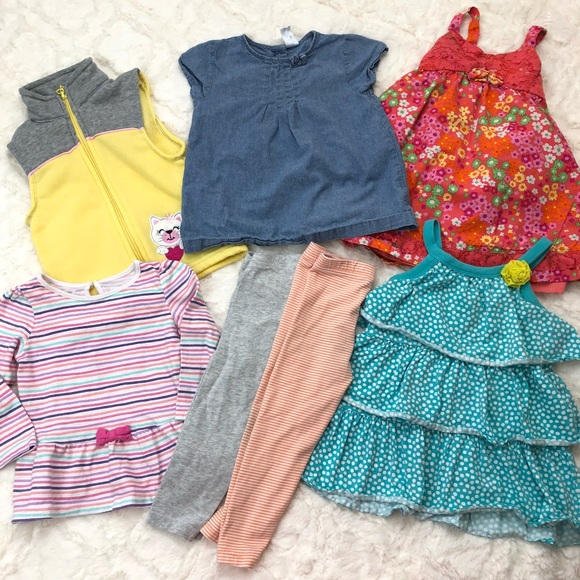 89d0895be99d Jumping Bean Other   Baby Girl 1218 Month Lot Dresses Pants Tops ...